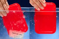 wodorozpuszczalne etykiety dla gastronomii